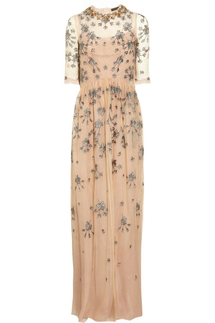Biyan | Grace embellished tulle gown  | NET-A-PORTER.COM - wow. like a modern lady mary.