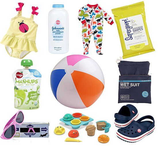 How to Pack For the Beach With a Toddler   POPSUGAR Moms