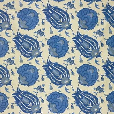 David Hicks Turkish Flower linen: