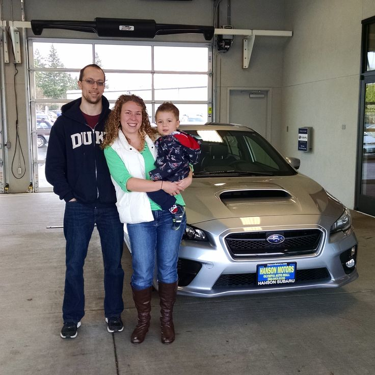 Thank you and congratulations to Allan and Katrina Blomquist on their new 2015 WRX!