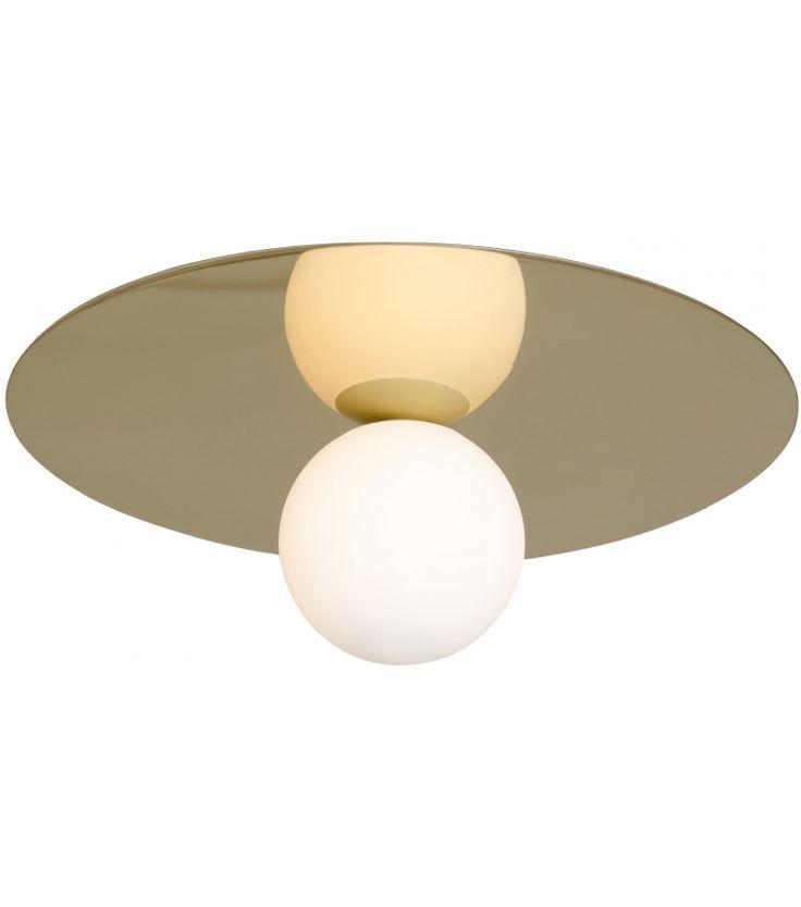 Plate And Sphere Atelier Areti Plafonnier Plafonnier Lampe Decoration Abat Jour En Verre