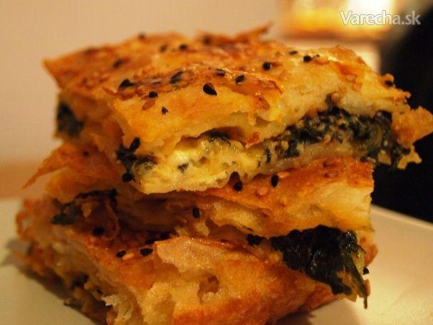 Ispanaklı börek (Špenátový borek)