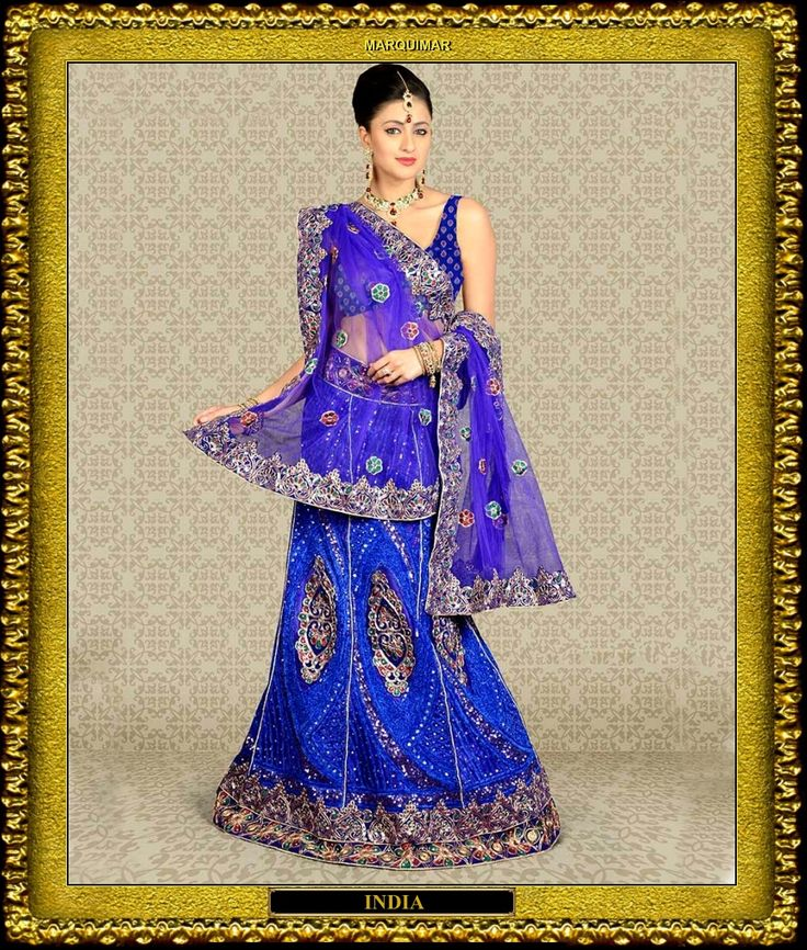 300 mejores imágenes en MODAS en Pinterest   Beautiful, Blusa sari y ...