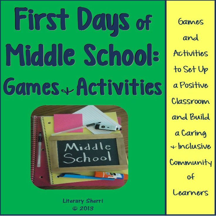 May The Fourth Be With You School Activities: FIRST DAYS OF MIDDLE SCHOOL: Games And Activities