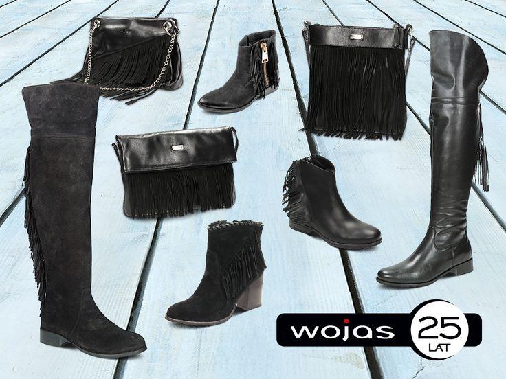 Frędzle to must have sezonu! Zapraszamy do salonów firmowych Wojas i sklepu online www.wojas.pl