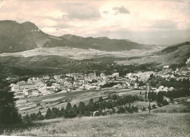 Historical photo of Ružomberok - this is my hometown