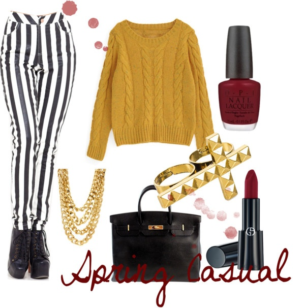 """Casual # 1"" by ziasmin on Polyvore"