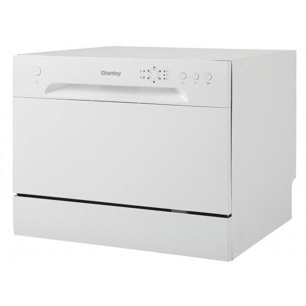 Danby 6 Place Setting Dishwasher Pah036 Countertop Dishwasher Portable Dishwasher Dishwasher White