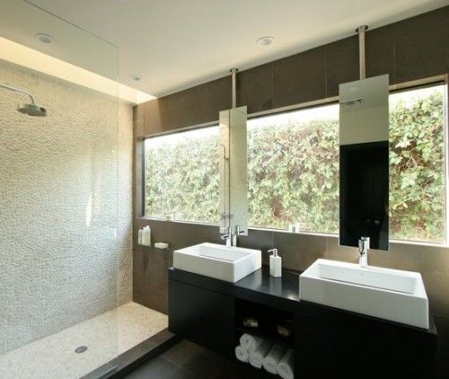link to examples of Windows over sinks w mirrors. I managed to lay bathroom out without this, but thought i'd post anyway