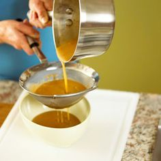 How to Make Chicken Gravy from drippings.