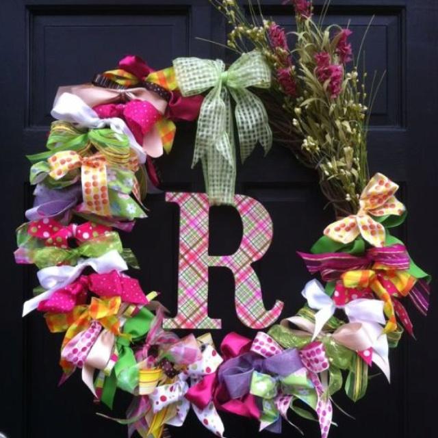 <3: Wreaths Spring, Wreaths Lovely Wreaths, Diy Wreaths, Ribbon Bows, Bow Wreath
