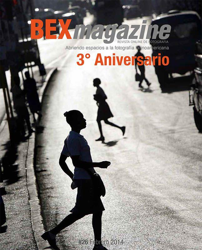 Tapa Bex Magazine numero 26  Tercer Aniversario