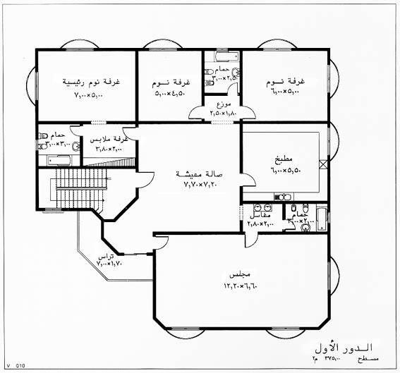 Pin By م عبدالله On م عبدالله House Floor Design Model House Plan Home Design Floor Plans