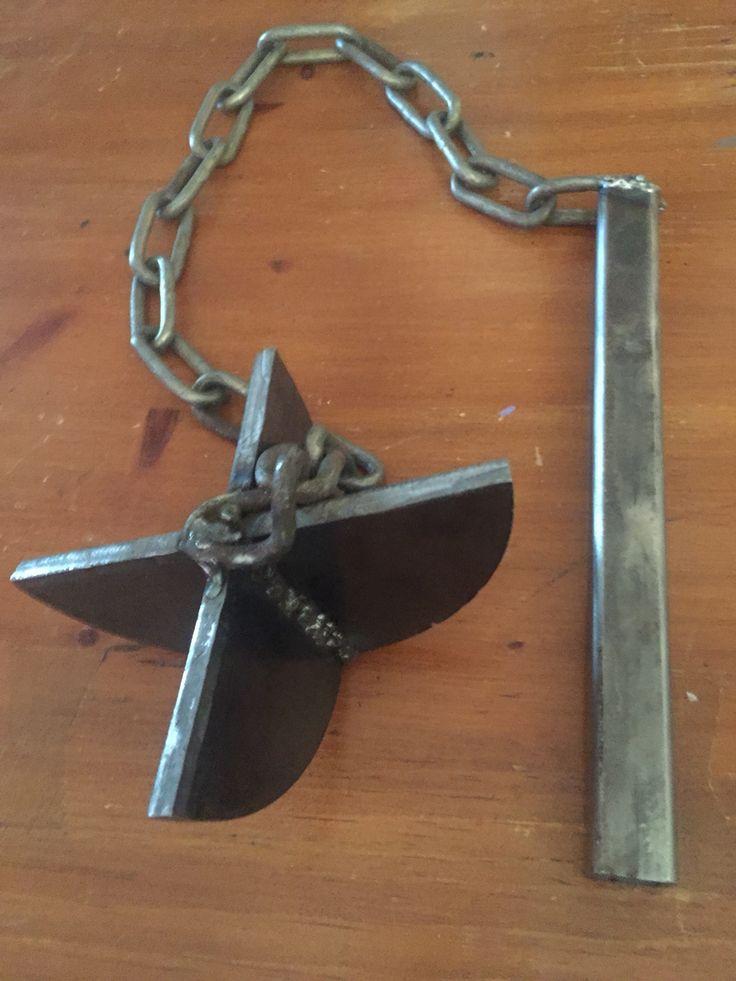 Flail I made in welding class #welding class