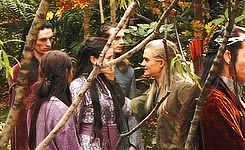 (gif set) A bunch of hilarious gifs from on the set of Lord of the Rings... :D