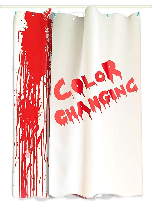 Introwizard Color Change Shower Curtain Flat Sheets Resizable