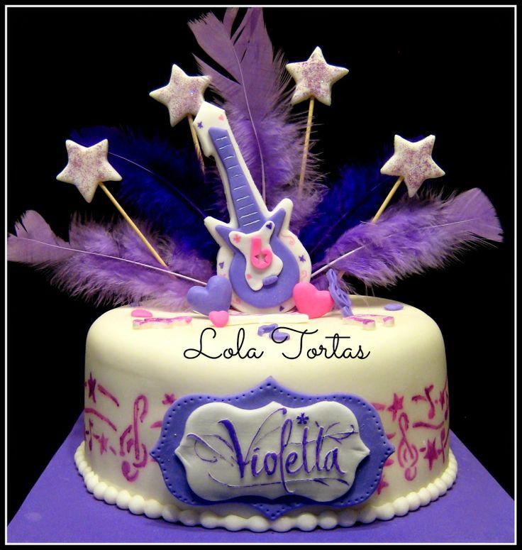 Torta de Violetta - Violetta cake