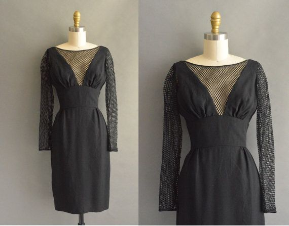 vestido vintage de los años 1950 / 50s sexy por simplicityisbliss