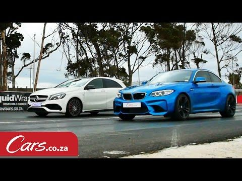 Drag Race: BMW M2 vs Mercedes A45 AMG [Video] - Cars.co.za
