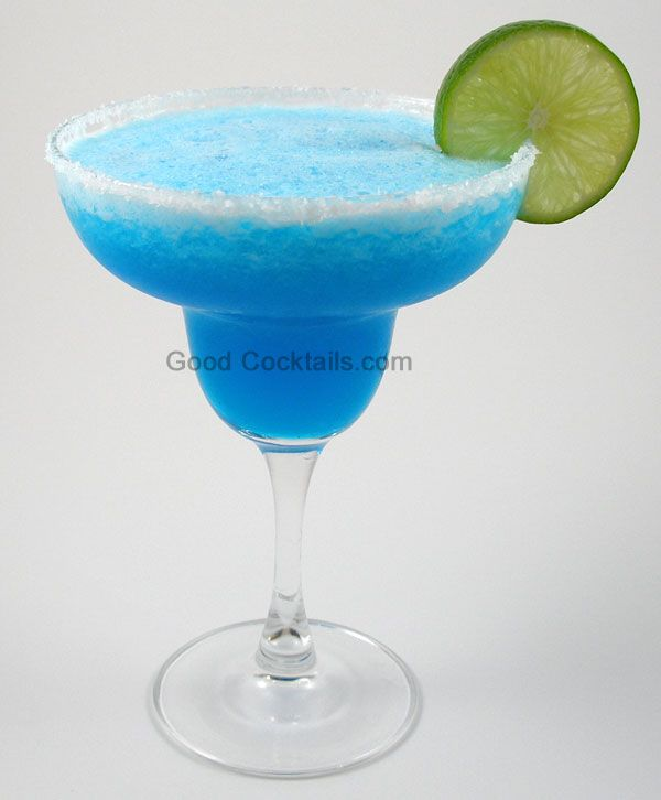 Frozen BLUE MARGARITAS For A Crowd (makes A Pitcher