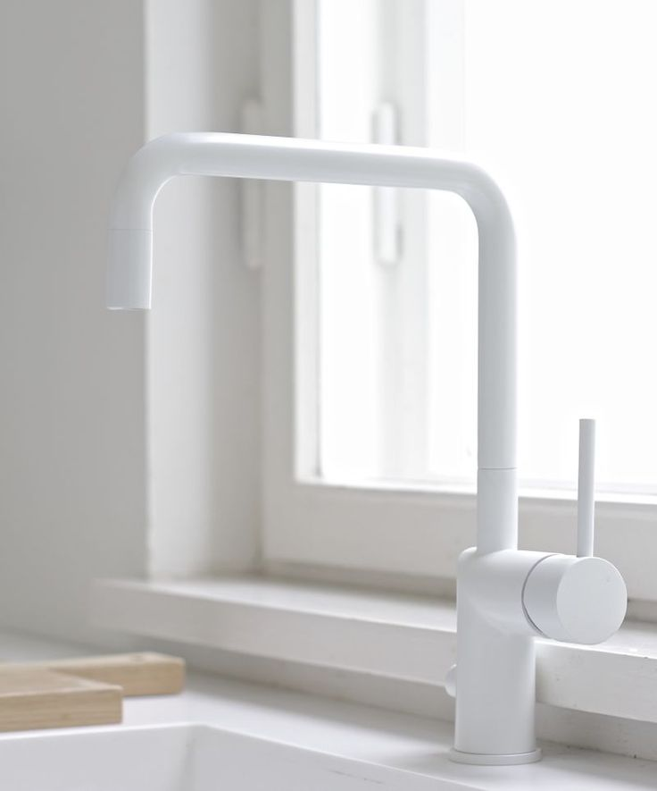 White Kitchen Taps: 17 Best Ideas About White Kitchen Faucet On Pinterest