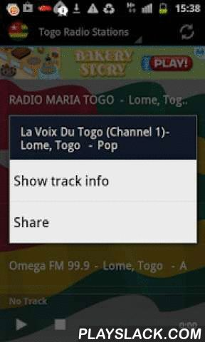 Togo Radio Music & News  Android App - playslack.com ,  Listen to top Togo Music and News on your android device with the best Free Internet Radio Stations. Get access to the best Radio Stations for FREE!Easy to use app with instant Track Info and share function.Turns radio automatically off, when you receive a call!This is a FREE ad support App, but without any annoying push ads! I recommend a fast internet connection for top app performance. Wifi, 4G, etc. I have tested the app and all…