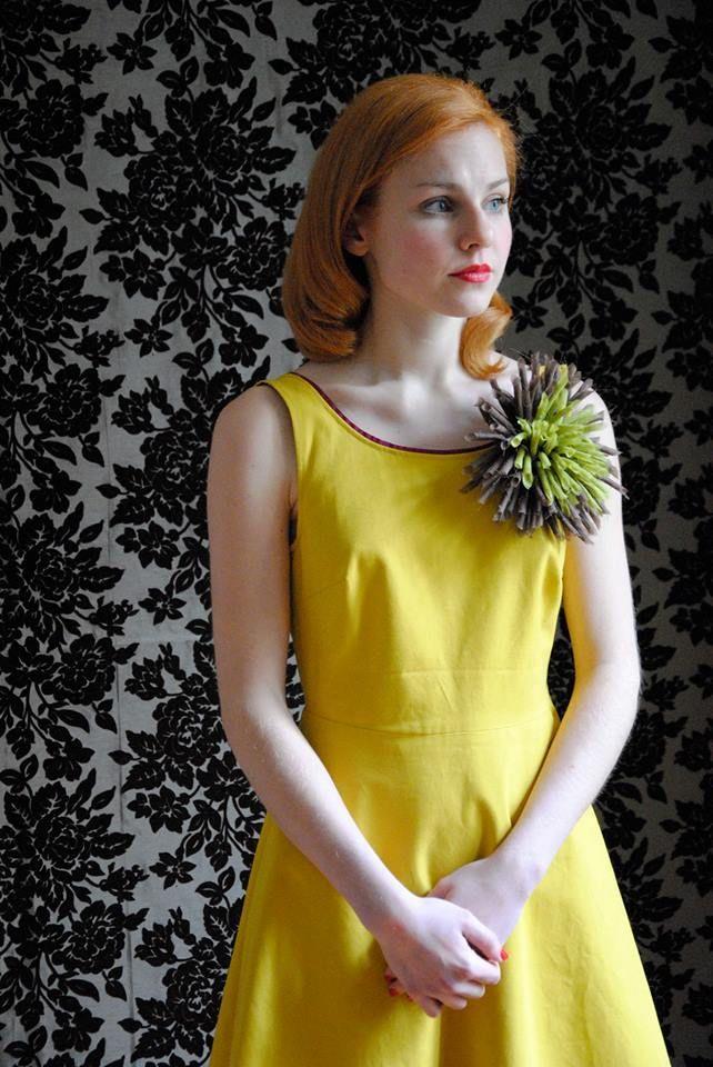 Flower Brooch - product by studiocinque e altro - photo by studiocinque e altro