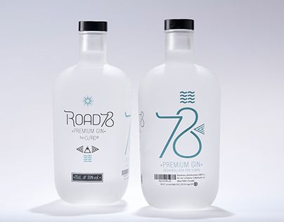 """Check out new work on my @Behance portfolio: """"ROAD78 (Premium Gin)"""" http://be.net/gallery/62140247/ROAD78-(Premium-Gin)"""
