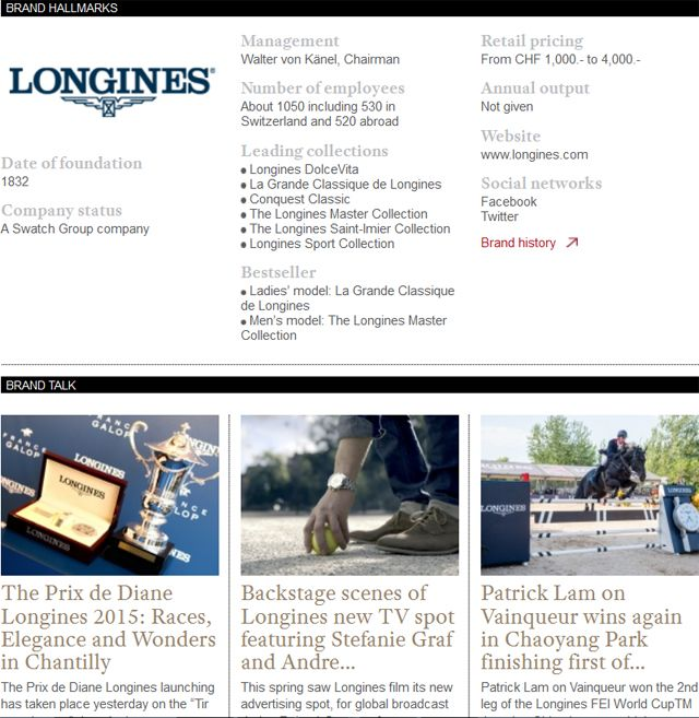 Discover the Longines' latest news and novelties on wtheJournal.com #Longines