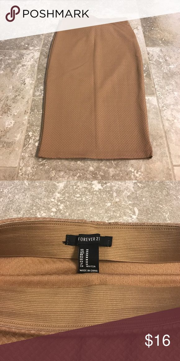 Forever 21 brown pencil skirt Forever 21 brown pencil skirt Skirts Pencil