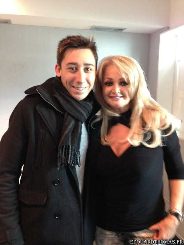 Bonnie Tyler in France at the studio France Bleu on May during her promotion in Paris. Photo: www.edouardthomas.book.fr #bonnietyler #thequeenbonnietyler #therockingqueen #rockingqueen #2013 #france #paris #promotion