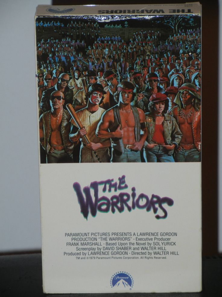 The Warriors VHS Movie Starring Michael Beck James Remar Dorsey Wright David Patrick Kelly Directed by Walter Hill by GailsPopCycle on Etsy