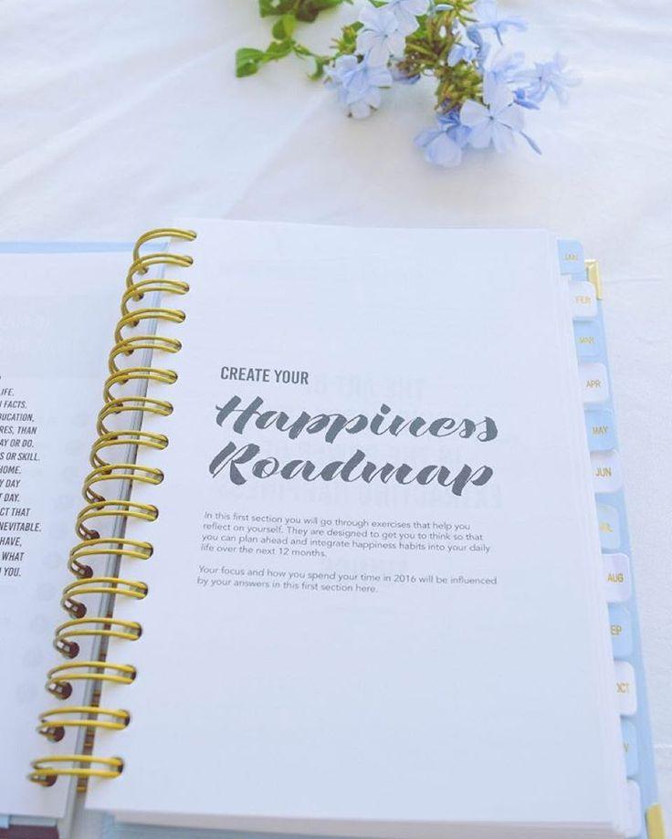 """(:@lafilledelapluie) #happinessplanner #planneraddict #stationery #happiness #positivethinking #selfawareness"""