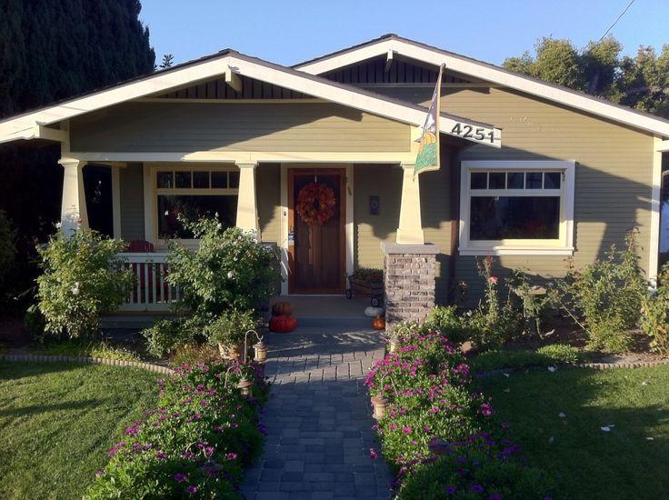 California Craftsman Bungalow Front Porch Renovation And Backyard Patio Pavers