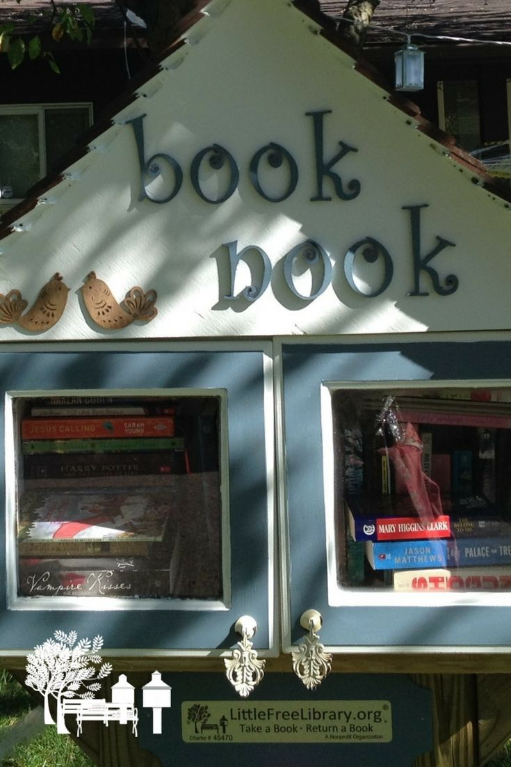 Take A Peek At This Amazing, Handcrafted, Little Free Library In Rochester