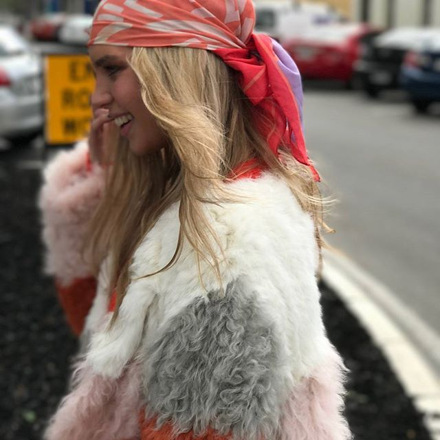 Bubish | Stylish Fur Jackets For The Chic, Modern Woman #streetstyle #bubish #furjacket #colourfulfur #colourfulfurjacket #fur #rabbitfur #bloggerstyle