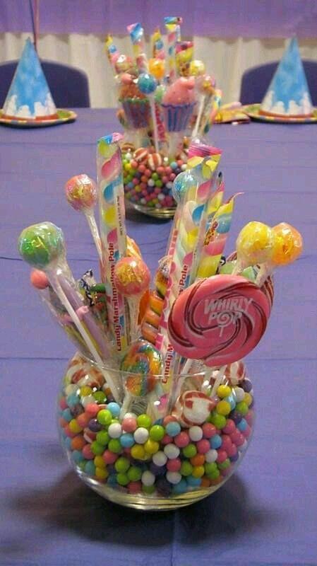Centro de mesa candy