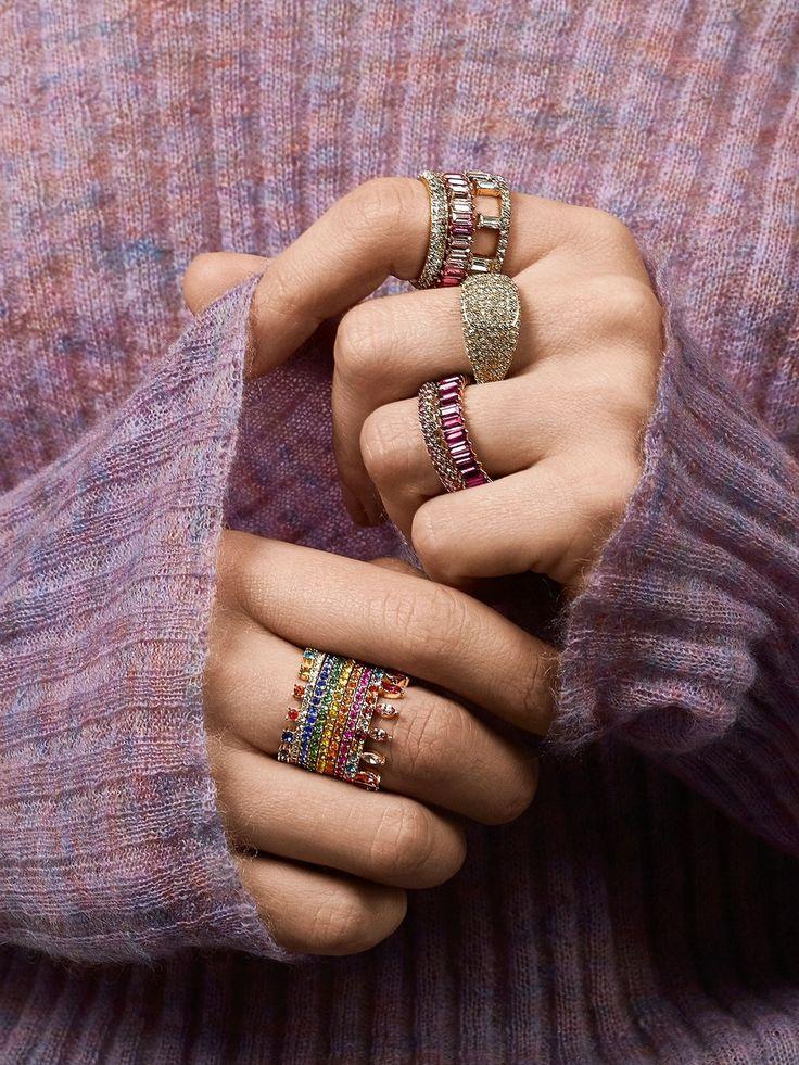 Mini Alidia Ring Vintage engagement rings, Rose gold
