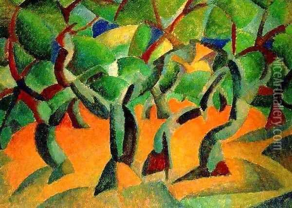 Olive Grove - Leo Gestel