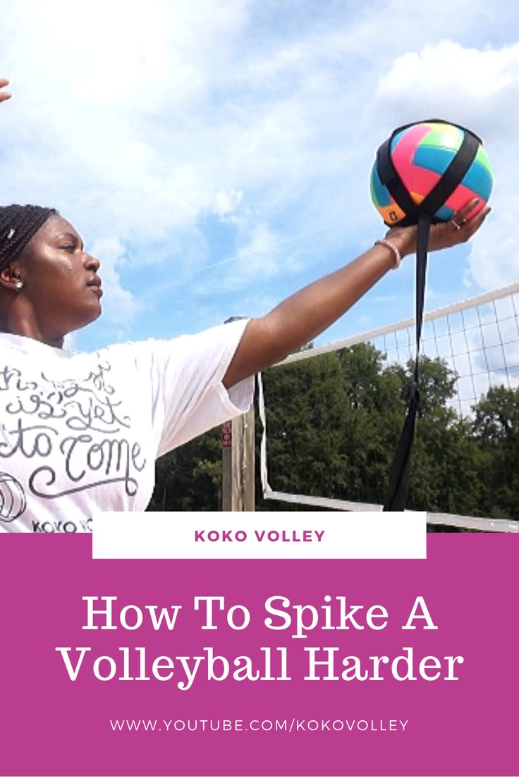 Its the second part of the volleyball hitters segment