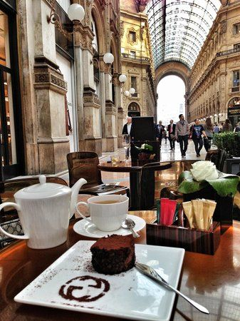 Coffee Coffee Coffee,Gucci, Cafe, Pastry, Caffeine, Gucci Cafe in Milan, Italy, Europe, Travel