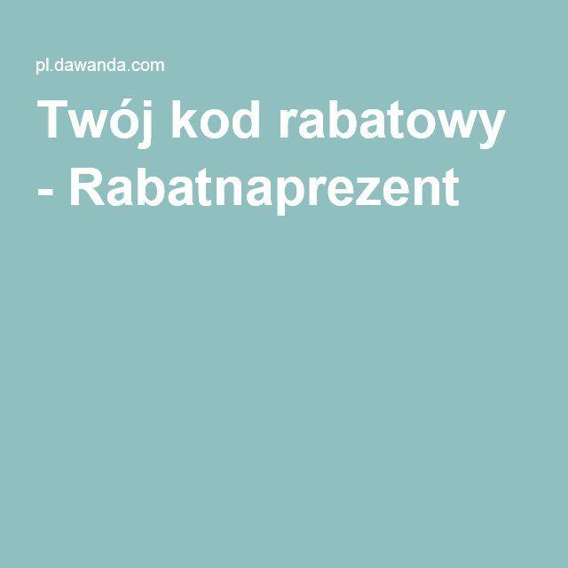 Twój kod rabatowy - Rabatnaprezent