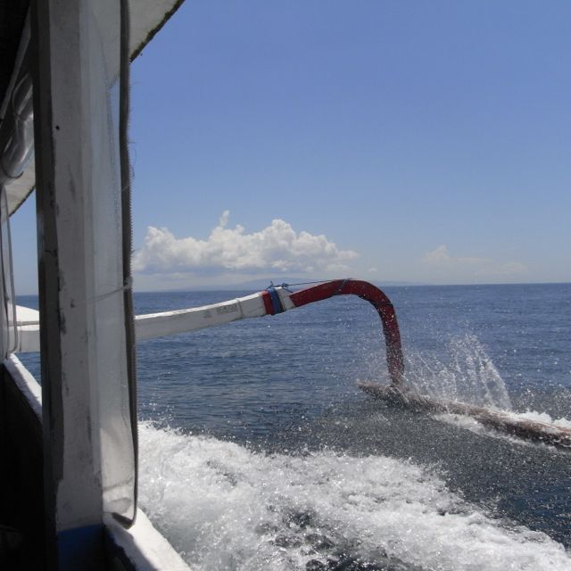 Give me the slow boat to Nusa Lembongan any day.