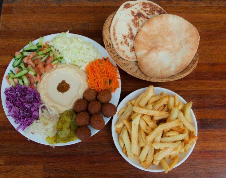 Falafel Omisi falafel plate