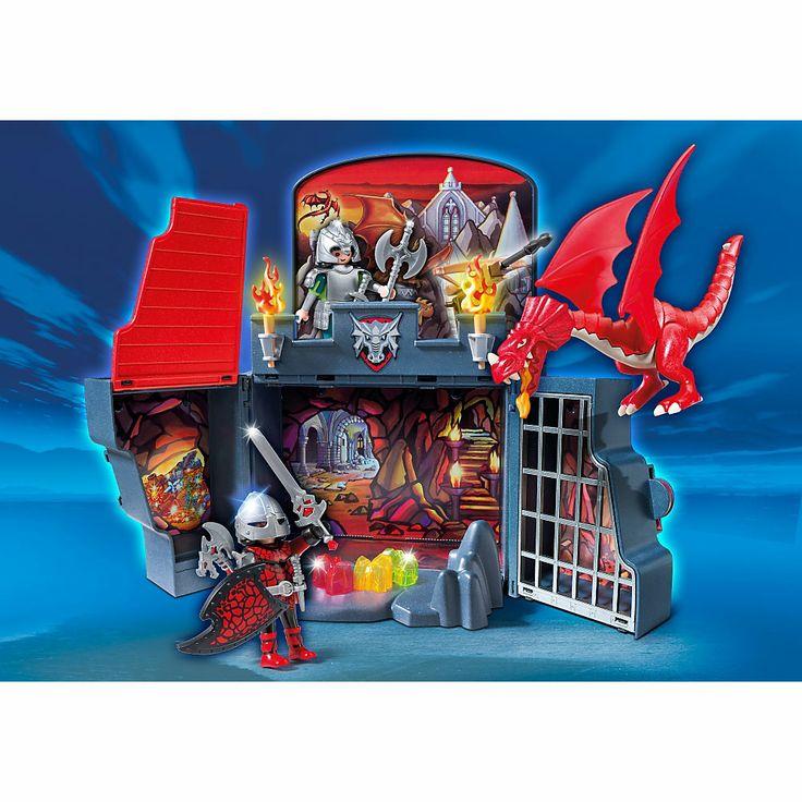 Playmobil Smoki, Smoczy loch, 5420, klocki