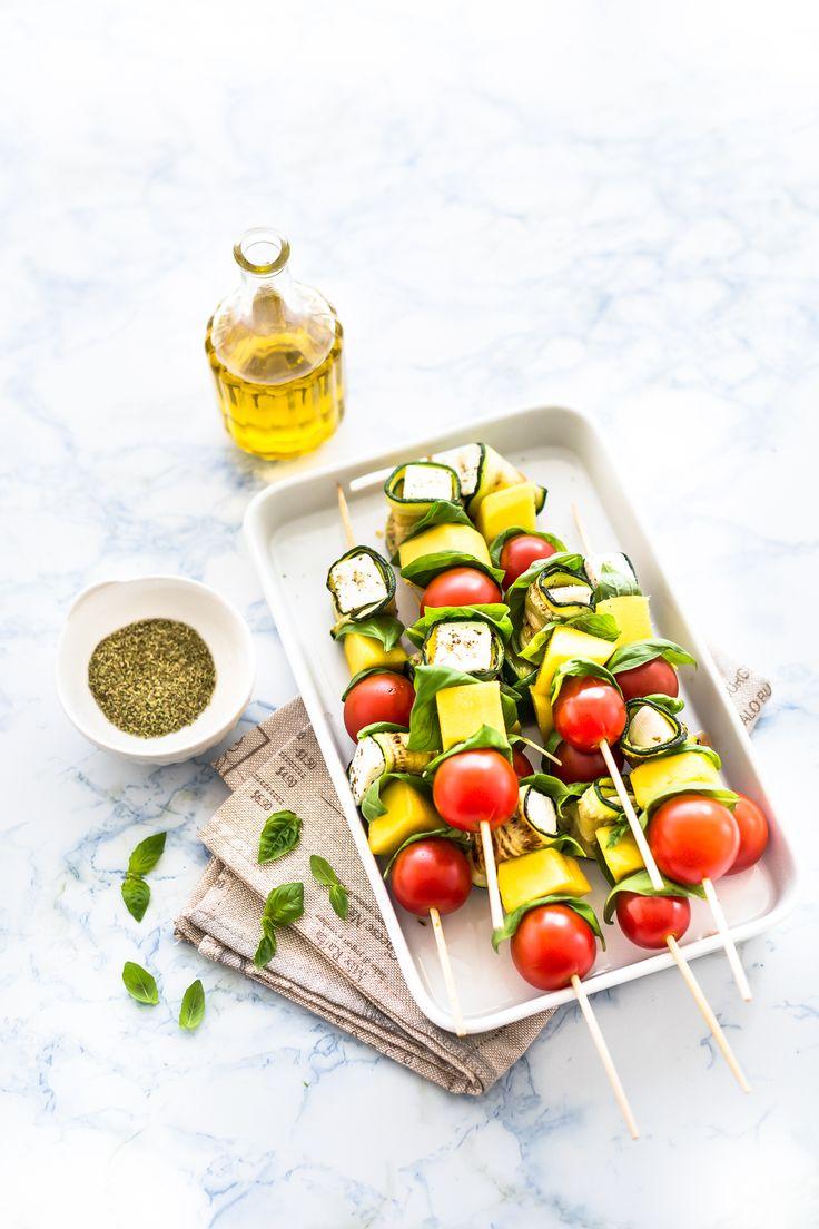 vegetable skewers - spiedini di zucchine e primosale