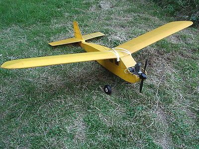 Rc #radio controlled aircraft aeroplane #radio #queen & os 61 4 #stroke engine use,  View more on the LINK: 	http://www.zeppy.io/product/gb/2/282144965388/