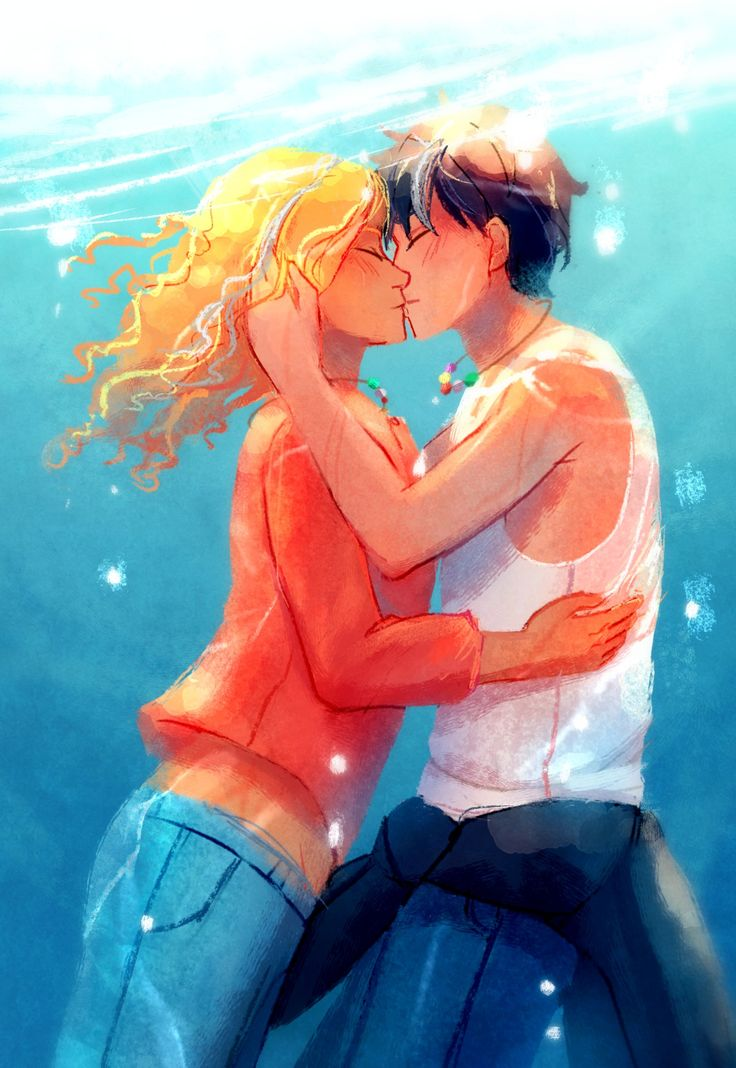My favorite picture of Percy and Annabeth together are the ones with there grey stripe in their hair <3