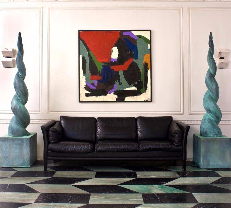 16 Brilliant Living Room Ideas By Kelly Wearstler You Will Love | Modern Sofas. Living Room Inspiration. Leather Sofa. #modernsofas #livingroomideas #leathersofa Read more: http://modernsofas.eu/brilliant-living-room-ideas-kelly-wearstler-love/