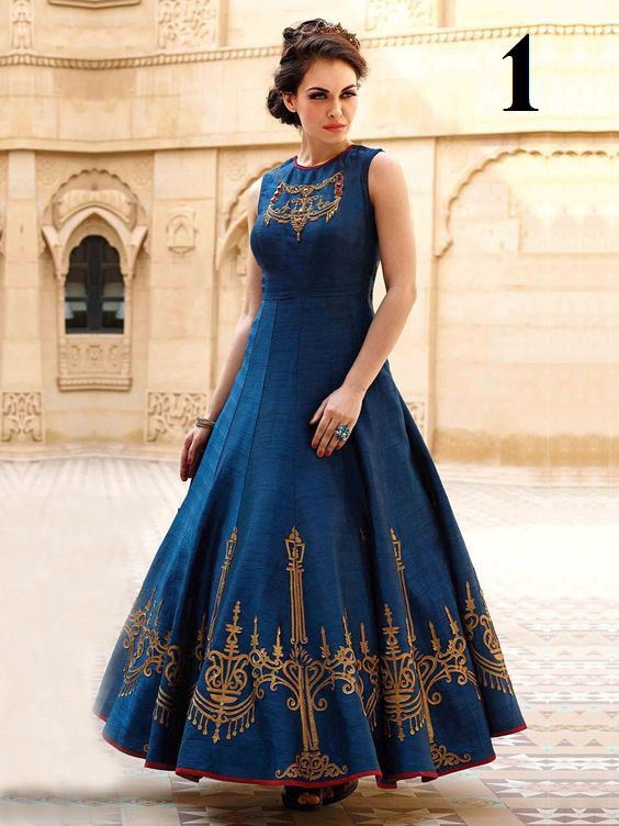 Buy Dhwani Banglory Silk Flore Length Navy Blue Color Party Wear Gown Online at Low prices in India on Winsant, India fastest online shopping website. Shop Online for Dhwani Banglory Silk Flore Length Navy Blue Color Party Wear Gown only at Winsant.com. COD facility available. #onlineshopping #gowns #ethnicwear #ethnic #fashion #style #shopnow